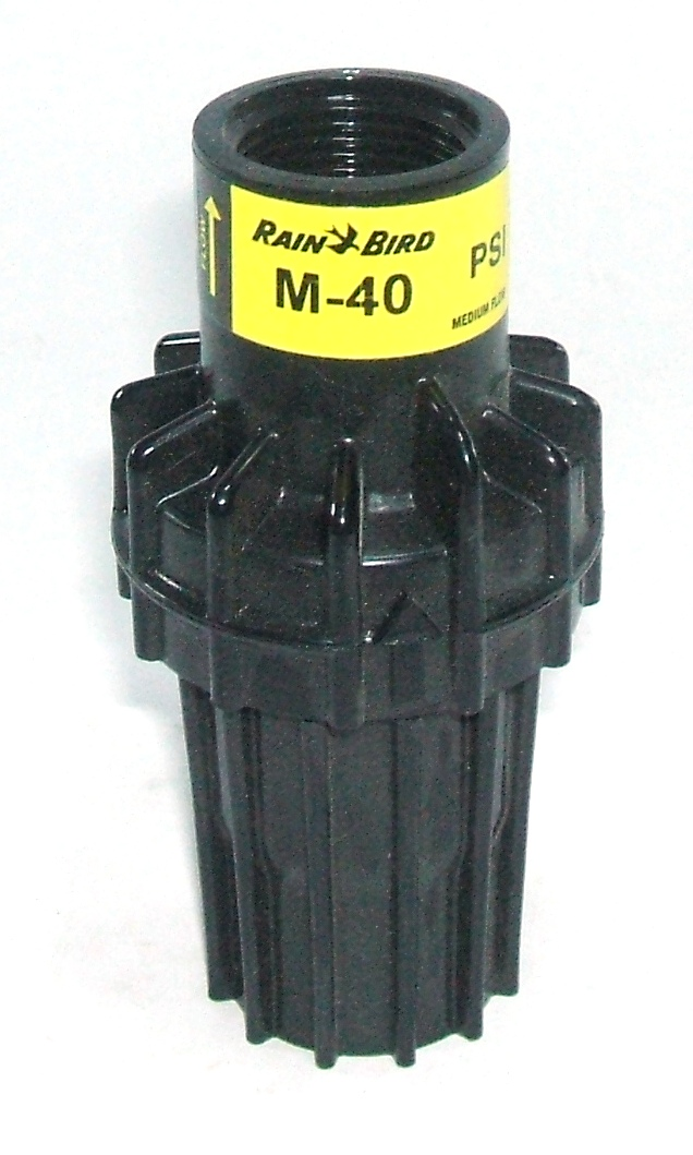 Garden pressure regulator from rain bird available in