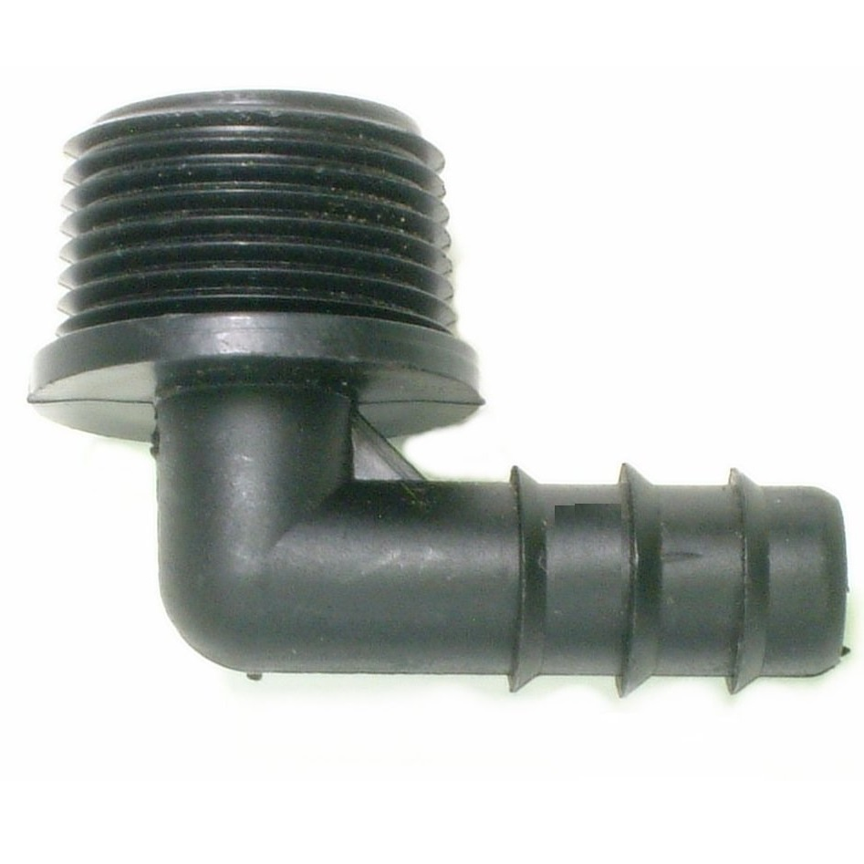 """20mm Barbed Irrigation Male Adapter 3//4/"""" BSP Thread"""